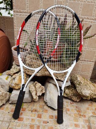 Pareja de raquetas de tenis