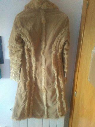 abrigo largo bordado