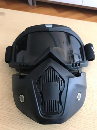 Máscara pantalla custom moto nueva