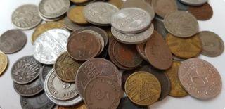 Lote único monedas Alemanas Weimar años 1874 1936