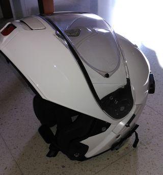 Casco moto Shoei abatible