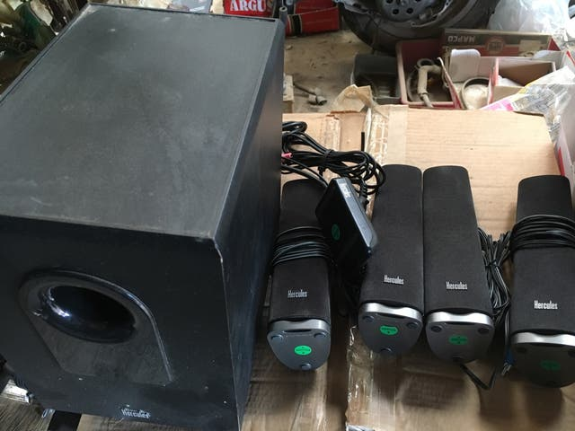 Altavoces multimedia Hércules XPS 5 170 slim