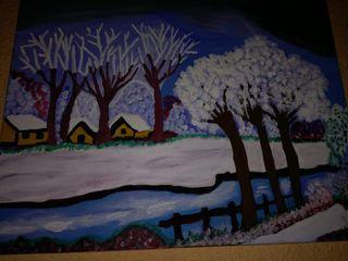 cuadro invierno