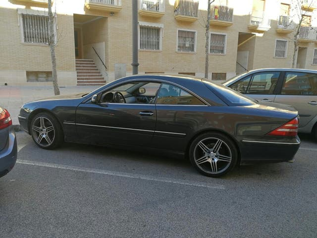 Mercedes-Benz CL Coupe 2000
