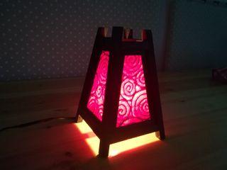 Lámpara japonesa original