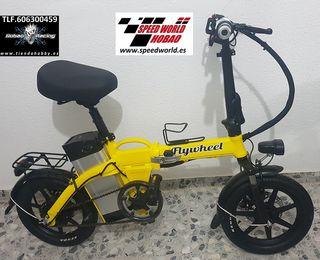 Bicicleta eléctrica plegable en aluminio
