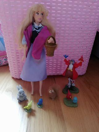 Princesa Aurora-Bella Durmiente que canta Disney