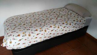 2 camas canapé con colchón