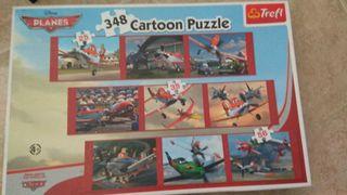 Puzzle planes 348 piezas