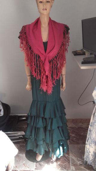 Traje de flamenca señora