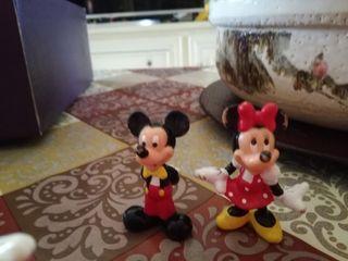 Figuras muñecos Disney Mickey y Minnie