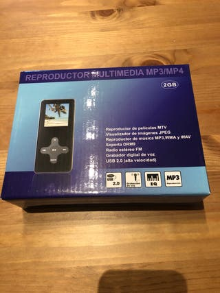 Reproductor multimedia MP3 MP4