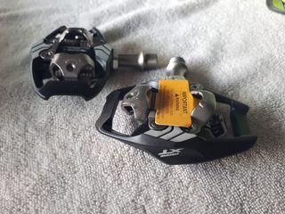 Pedales shimano pd-8020 xt plataforma nuevos