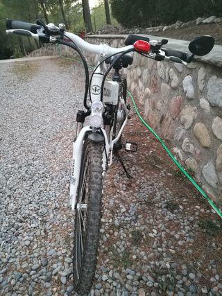 Bicicleta Eléctrica Plegable Montaña