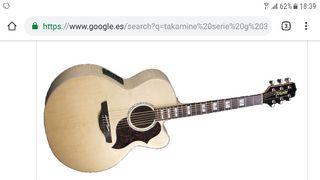 GuitarraTakamine Serie G