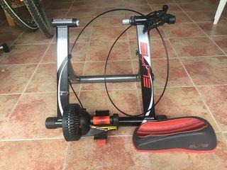 Rodillo bici Elite Mag elastogel