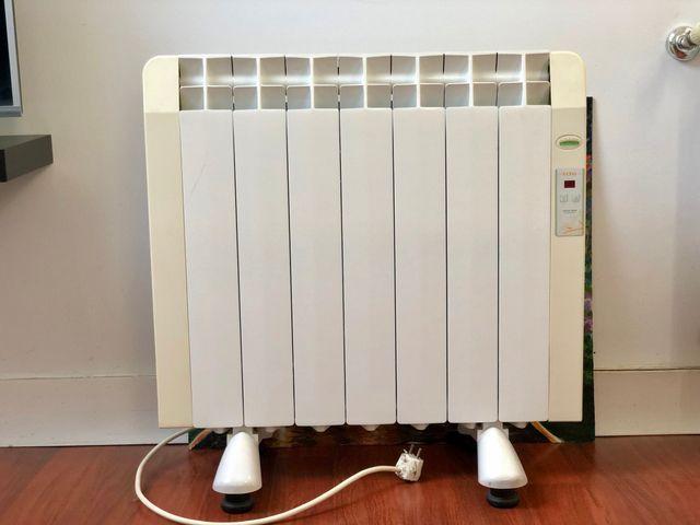 2x Radiador eléctrico 850w 7 módulos