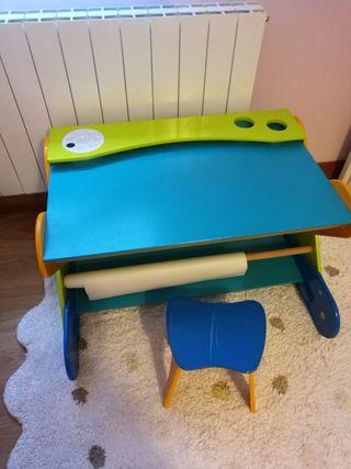Mesa para trabajar de niños/ escritorio
