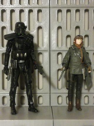 Star Wars figuras Eadu