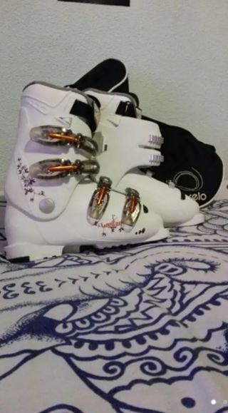 botas de esquiar para mujer