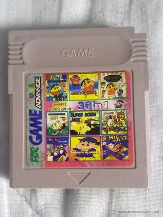 juego game boy color 36 en 1