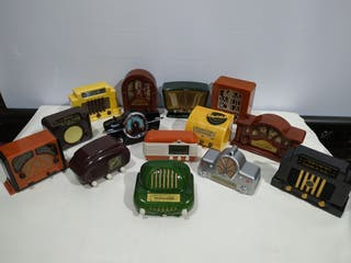 Coleccion Radios miniatura