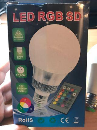 Bombilla LED RGB