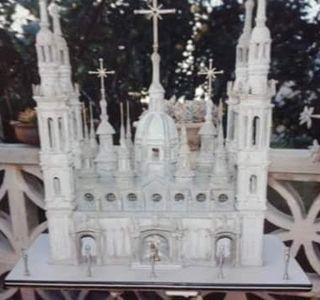 maqueta la Pilarica de Zaragoza