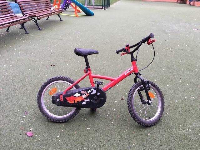 Bicicleta infantil 14 pulgadas