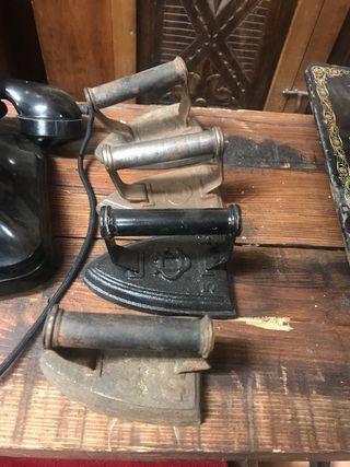 Planchas de hierro antiguas pack de 7