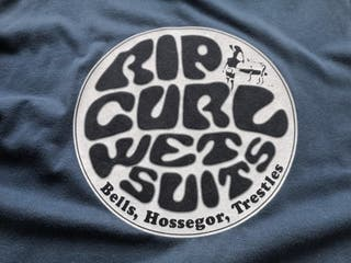 Camiseta surfera rip curl