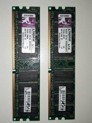 2 RAM DDR1 512KB