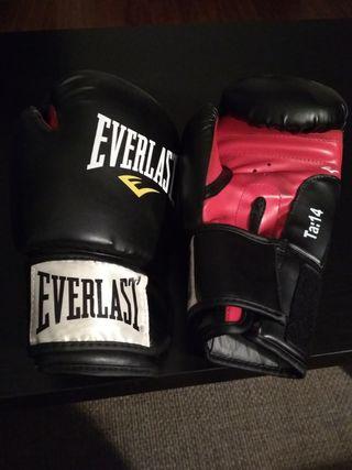 Guantes boxeo Everlast NUEVOS!
