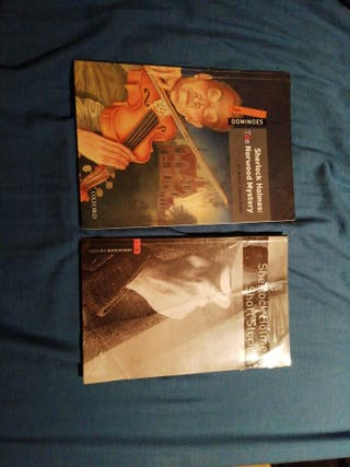 "Libros de lectura en ingles ""Sherlock Holmes""."