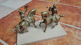Bonita figura caballos