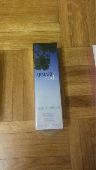 Sin abrir!!! Armani Code