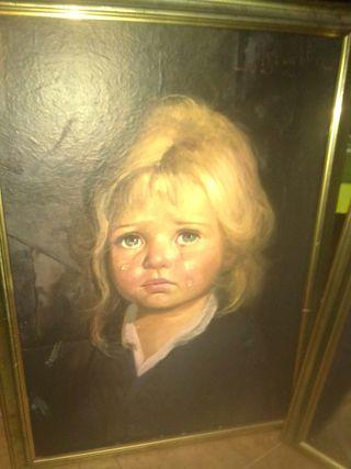 vendo 3 cuadros de niños llorones de g.Brugolin