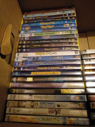 Pelis dvd infantiles. Se venden en pack de 3 pelis