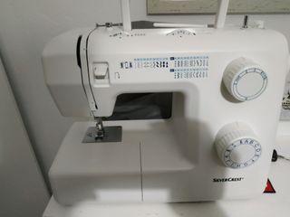 Maquina de coser Silvercrest, lidl