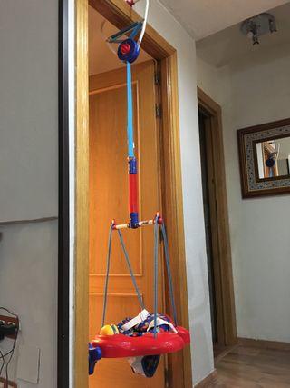 Columpio-saltador de puerta para bebés