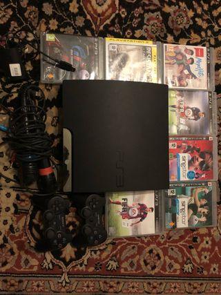 Vendo PS3 con Juegos