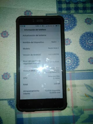 Xiaomi note2,doble sim