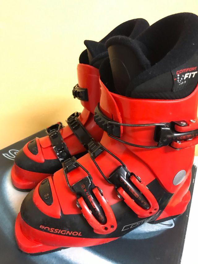 Botas esquí niño rossignol. 19,5