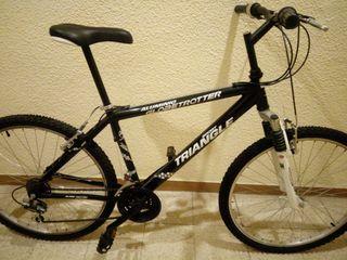 Bicicleta de aluminio. 26 pulgadas