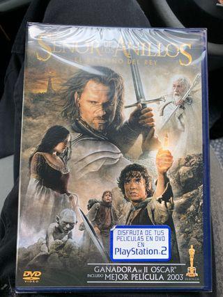 Dvd El señor de los anillos el retorno del rey