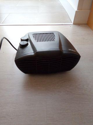 calefactor portátil.