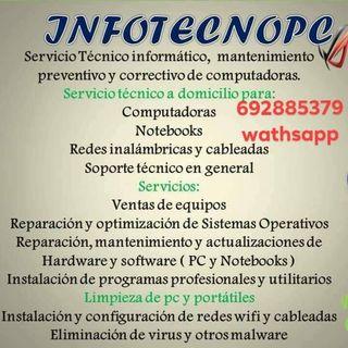 Servicios informáticos desde software hasta hardwa