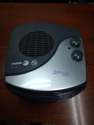 calefactor aire feio y caliente