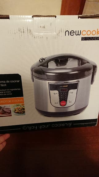 Robot de cocina new cook Silver NUEVO a estrenar
