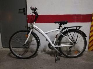 bicicleta btwin mixta paseo y campo